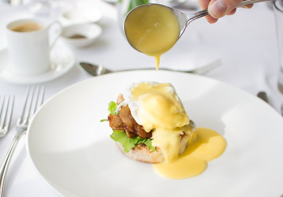 Schoone Oordt Country House: Eggs Benedict