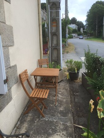 Morbihan, França: Patio !!!