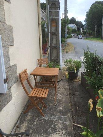Morbihan, Francia: Patio !!!