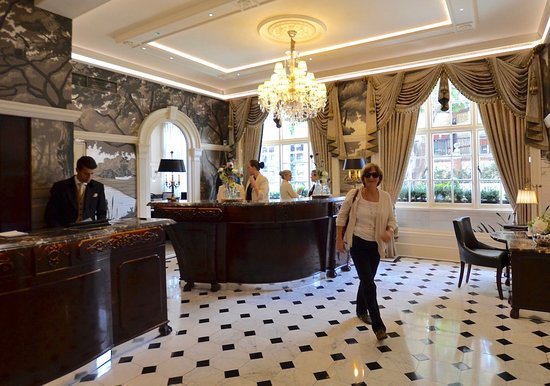 The Goring: Checking in