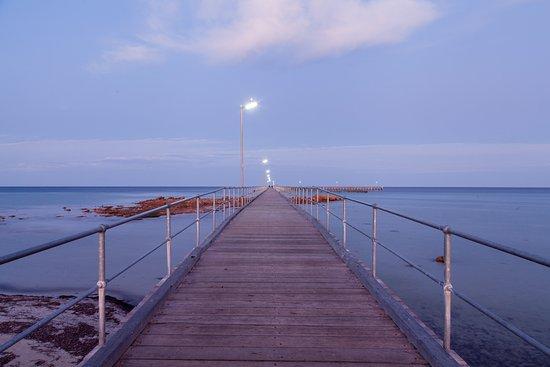 Sunrise Moonta Bay Jetty