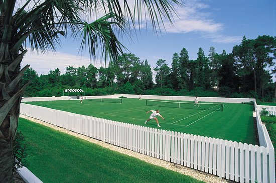 Wesley Chapel, FL: Tennis Grass Courts