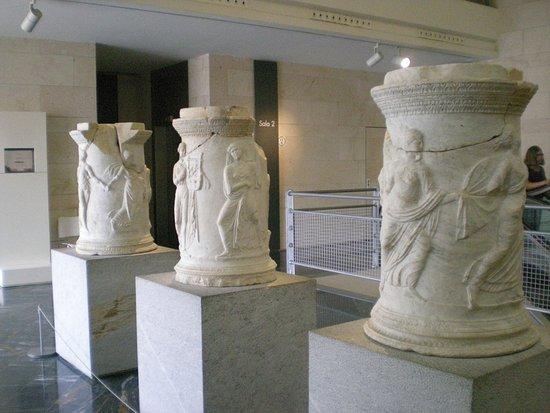 Teatro Romano: Una de las salas de la planta superior.