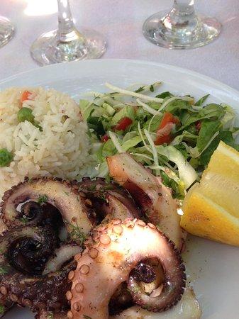 Sokaki Lemon Garden: Le fantastique poulpe