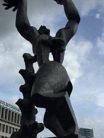 Zadkine - destroyed city Rotterdam