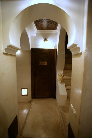 Riad La Cigale: hall