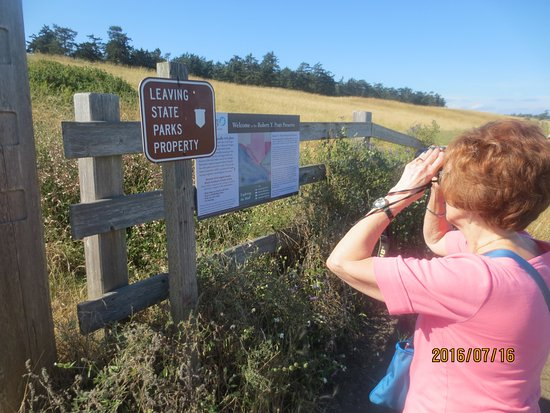 Fort Ebey: signs