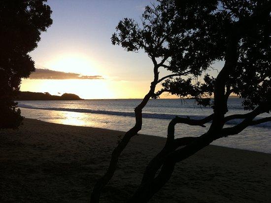 Coopers Beach, นิวซีแลนด์: Tramonto dalla spiaggia