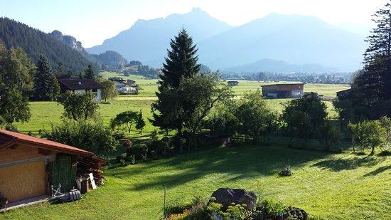 Wangle, Áustria: La vista della nostra camera