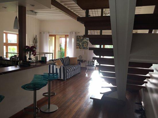 Хоултаун, Барбадос: Lounge/kitchen