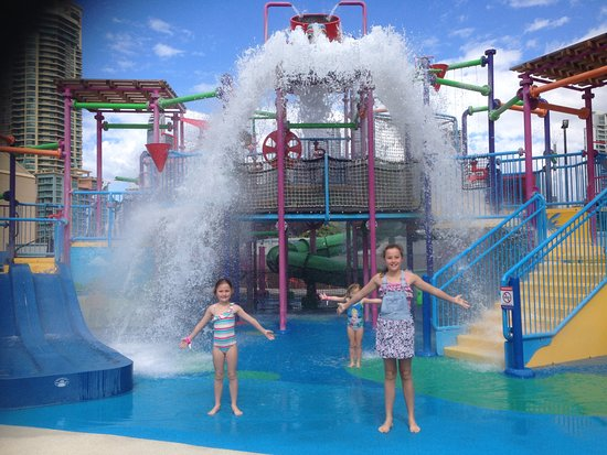 water park fun - Picture of Paradise Resort Gold Coast