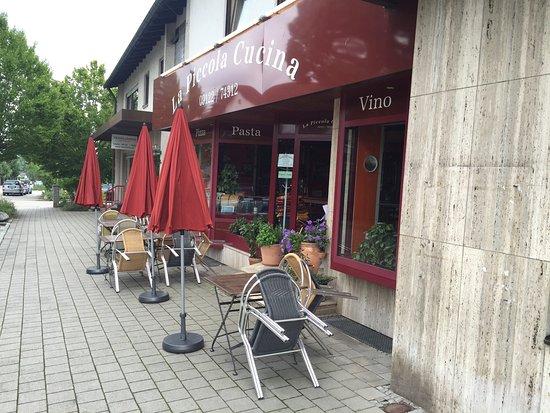 Rednitzhembach, Alemania: Italienisches Restaurant im Ortskern