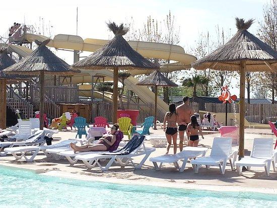 Les Mediterranees   Camping Beach Garden: Toboggan De La Piscine