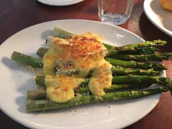 Mitchell's Fish Market - Sandestin: Asparagus with fresh baked Parmesan