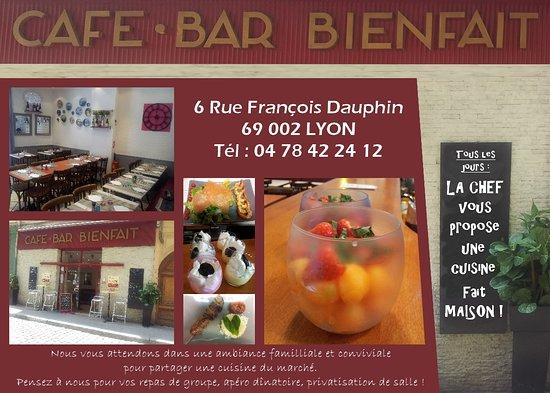 Restaurant Le Bienfait Lyon