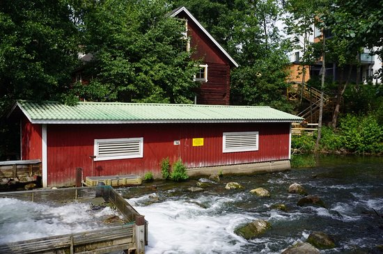 Asikkala, Finland: Vääksy Watermill and Electric Power Museum