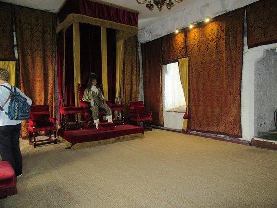 Castletown, UK: Throne room