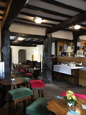 The Wheatsheaf Inn and Restaurant: Views from the pub doorway and inside