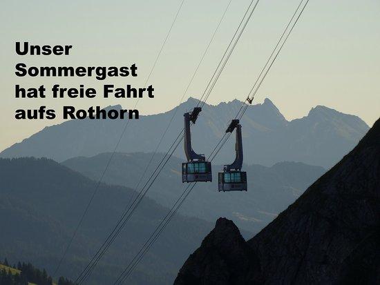 Sorenberg, سويسرا: Luftseilbahn Brienzer Rothorn