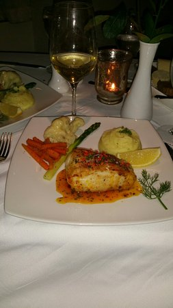 The Wine Cellar : A very wonderful meal.