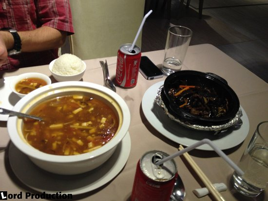 Cagayan Holiday and Leisure Resort: Sweet and sour soup