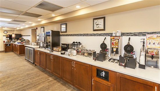 Best Western Bridgeview Hotel: Complimentary Breakfast