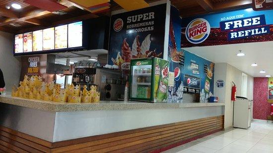 Burger King: Parte do atendimento