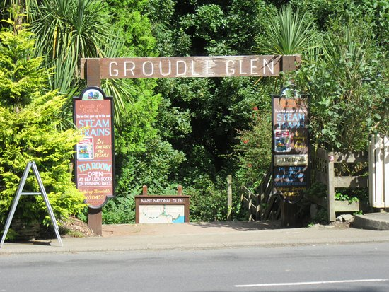 Groudle Glen Railway: Entrance, say it all really