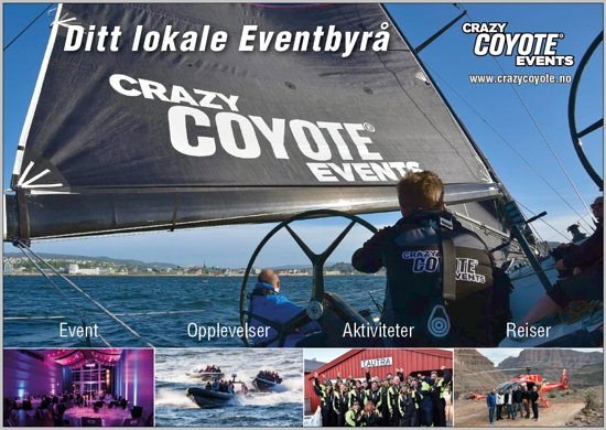 Crazy Coyote Events AS
