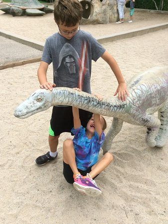 George S. Eccles Dinosaur Park: Ideal for the little ones...