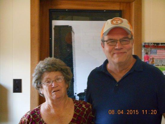 Dawna and Ken of Ducktown Basin Museum,