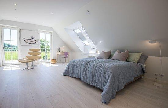 Saltum, Dinamarca: blåt værelse