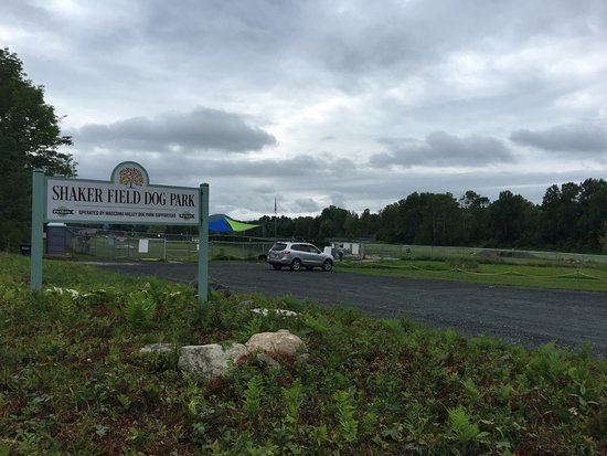 Enfield, NH: Shaker Field Dog Park (from street)
