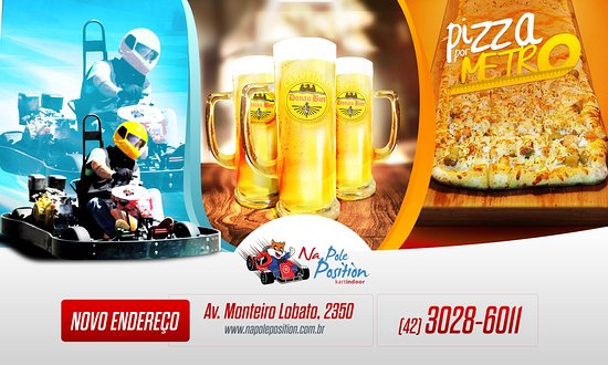 Na Pole Position Kart Indoor e Pizzaria
