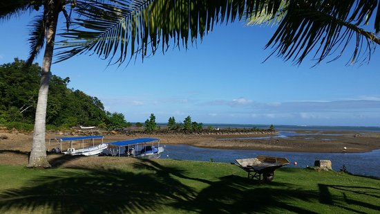 Korovisilou, Fiji: View from the resort