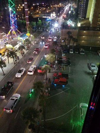 Myrtle Beach Skywheel View Of The Strip From