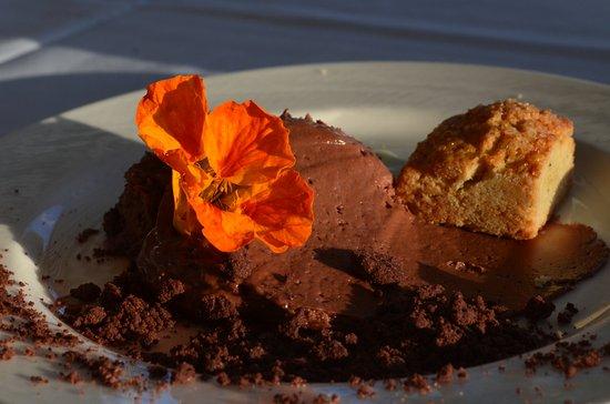 Shelburne, VT: Dark chocolate mousse