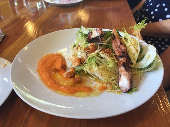 Ardmore, PA: Grilled octopus salad