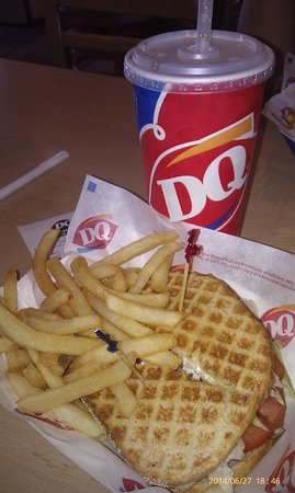Dairy Queen: The Panini, couldn't really remember the name