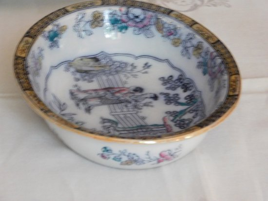 Pittsfield, MA: Mrs. Melville's second best china.
