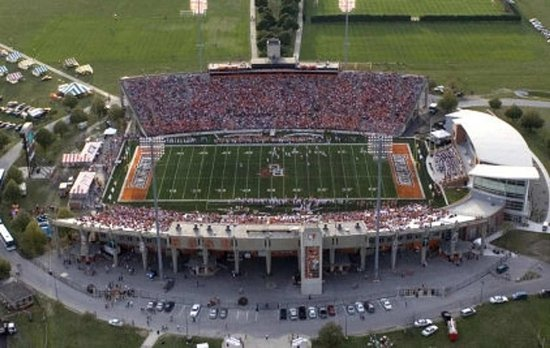 Bowling Green, OH: Falcon's Stadium