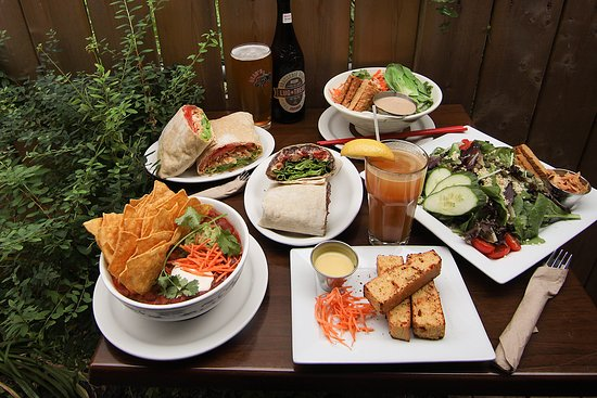 Photo of Restaurant Aux Vivres at 4631 St Laurent, Montreal, QC H2T 1R2, Canada