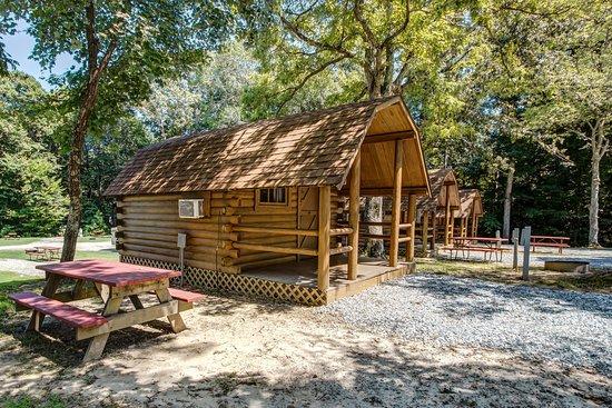 Williamsburg / Busch Gardens Area KOA: Cabins