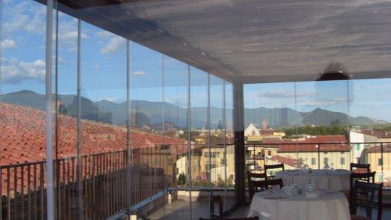 Rooftop Restaurant At Grand Hotel Duomo Picture Of Grand Hotel Duomo Pisa Tripadvisor
