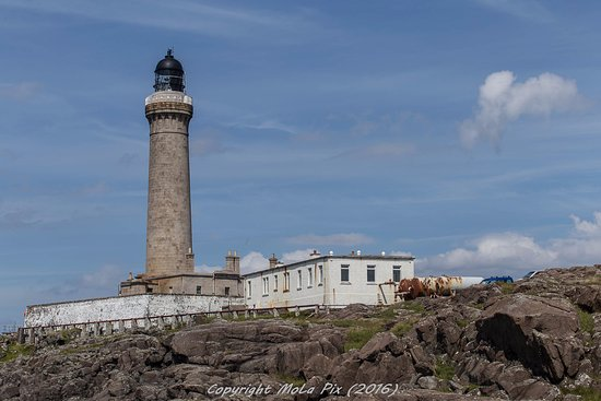 Glenborrodale, UK: Ardnamurchan Lighthouse