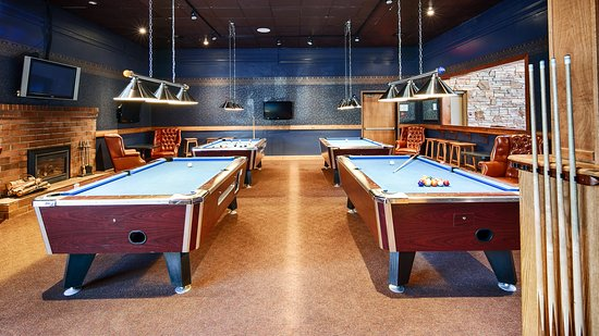 BEST WESTERN The Westerly Hotel & Convention Centre: Game Room