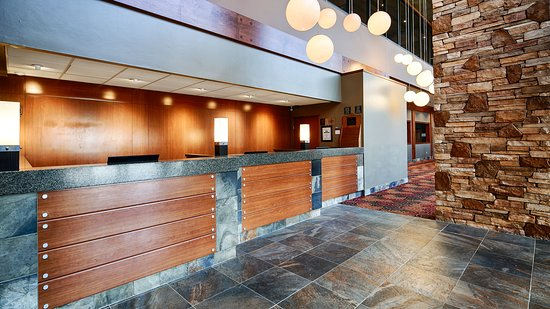 Best Western The Westerly Hotel: Front Desk