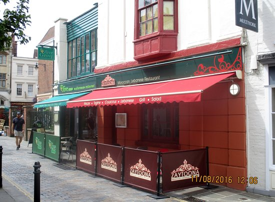 Best Moroccan Restaurants Canterbury