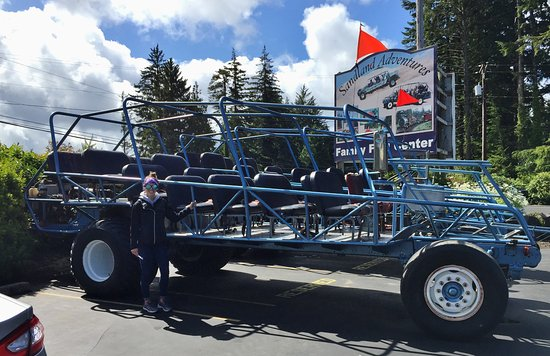 Florence, OR: Giant Buggy 496 Chevy!