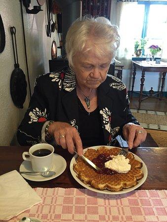 Svalov, Sverige: Bialitt Kaffestuga